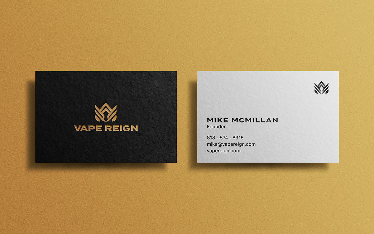 Vape Business Cards