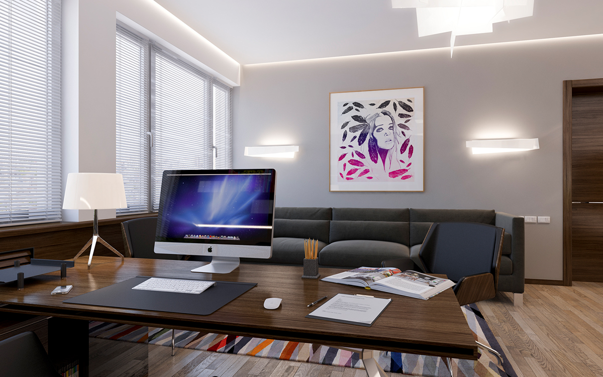 PERSONAL OFFICE ROOM on Behance