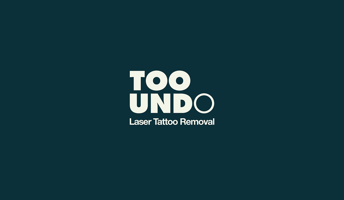 tattoo Removal ink inked gradient Stationery business card poster type gradual progression Fade Disappear stripes