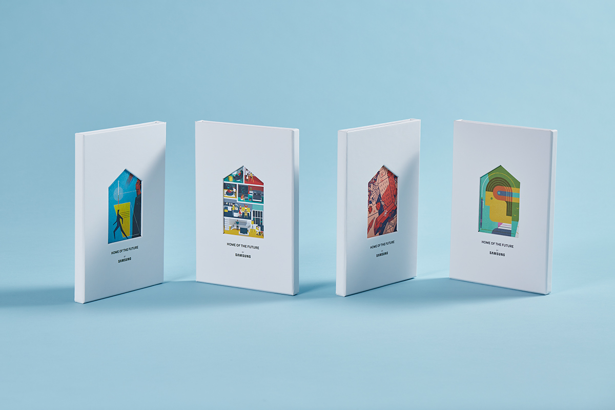 Samsung home of the future on behance samsung had a bold blueprint for shaping the homes of tomorrow we translated their vision into something easy to read and hard to put down this book was malvernweather Image collections