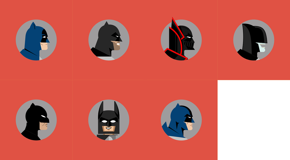 Batman poster posse on behance - Knights of the round table lego ...