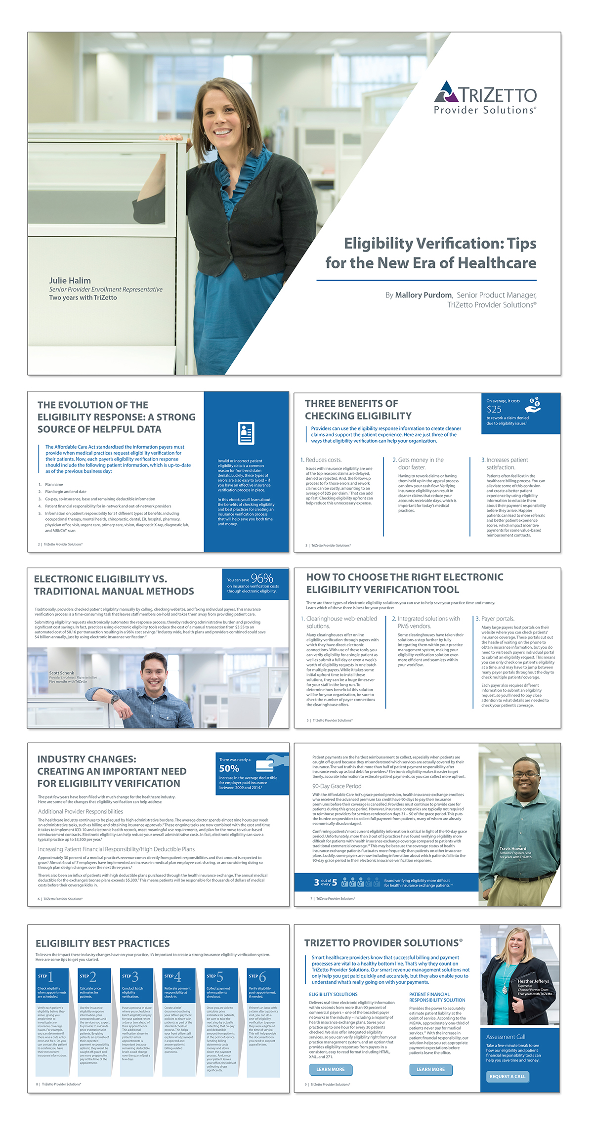 TriZetto Provider Solutions: eBook on Behance