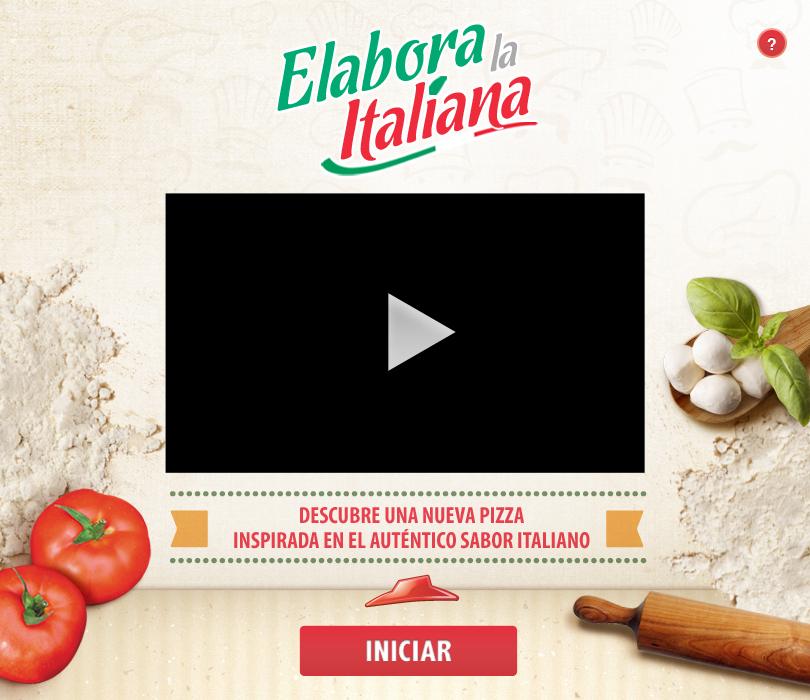 Pizza Hut El Salvador Social app facebook engagement
