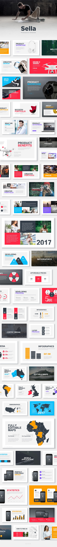 Premium sella powerpoint template free slides on behance toneelgroepblik Images