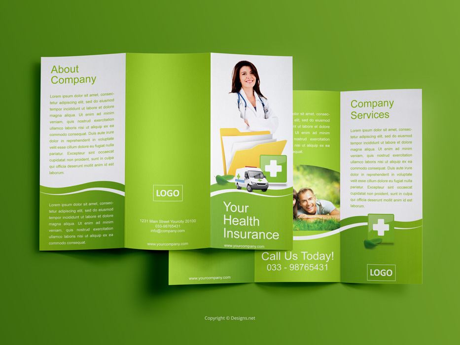 Elegant and playful trifold brochure design on behance fashion and retail company altavistaventures Image collections