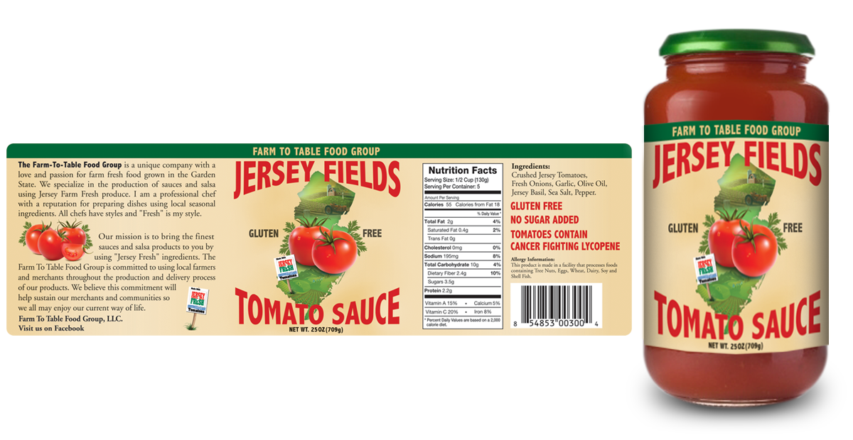 Food Labels and Packaging on Behance