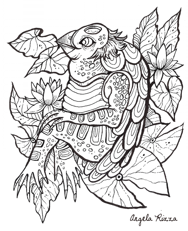 The Book of Beasts\' Coloring Book on Behance