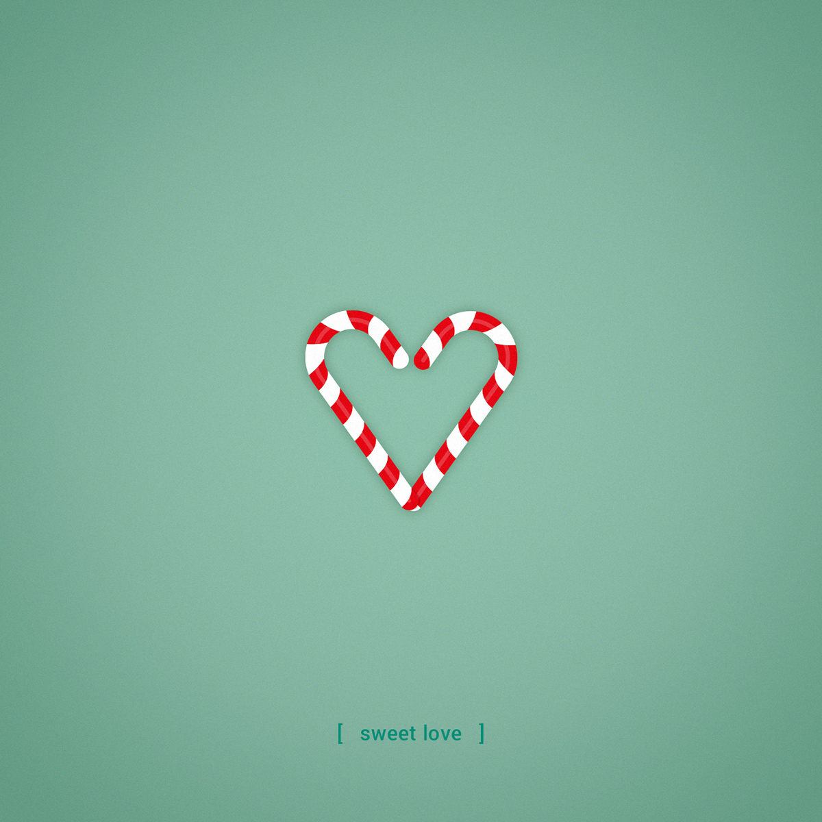 heart shaped love on behance