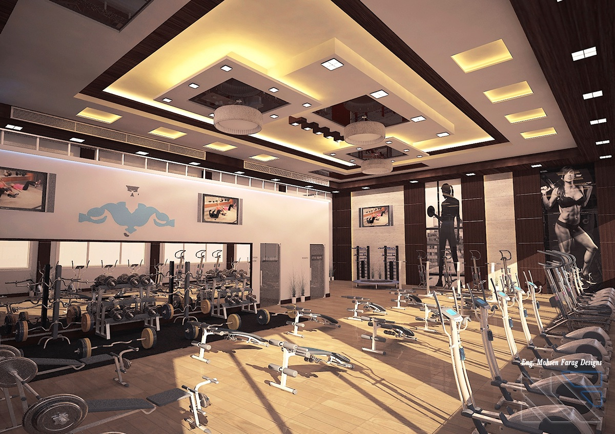 Style square gym on behance