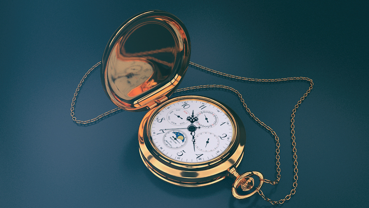 Pocket Watch - 3D render