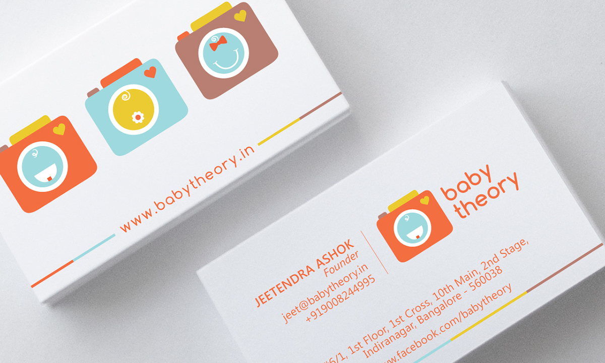 Branding & Identity - Baby Theory on Behance