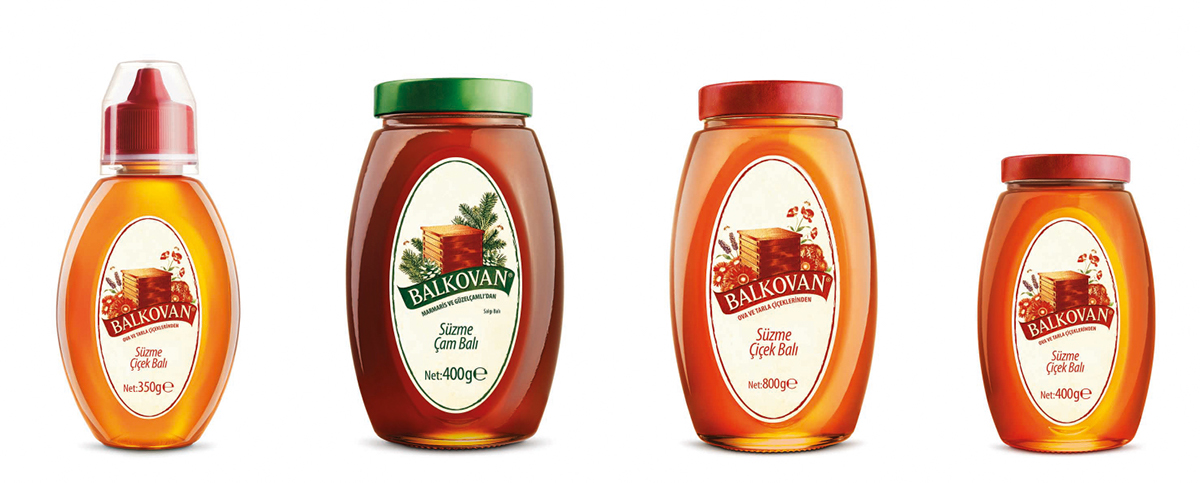 Balkovan Honey Graphic Design On Behance