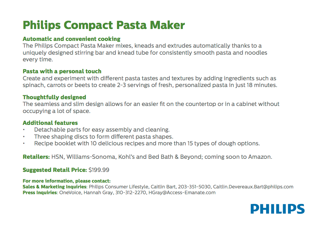 Product Fact Sheets - Philips on Behance