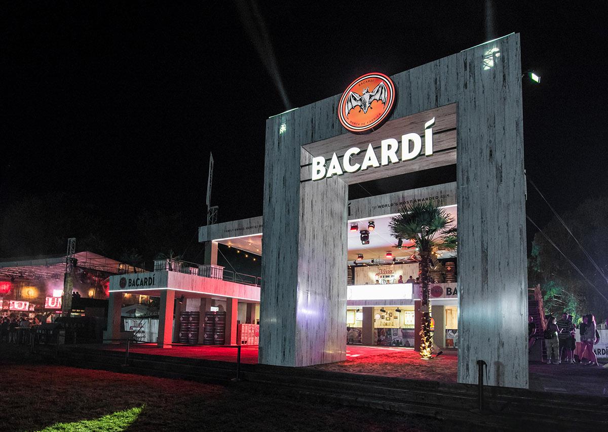 bacardi festival Stage gateaway sziget