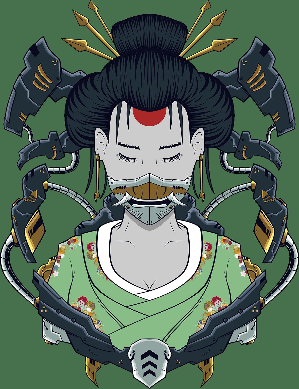 mecha geisha