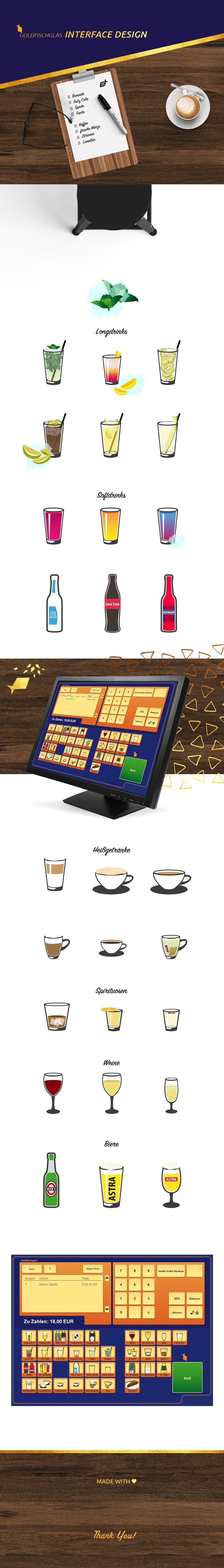 Interface UI Kassensystem