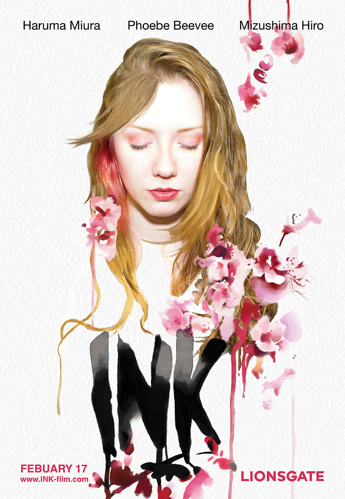 ink watercolour photoshop book movie poster