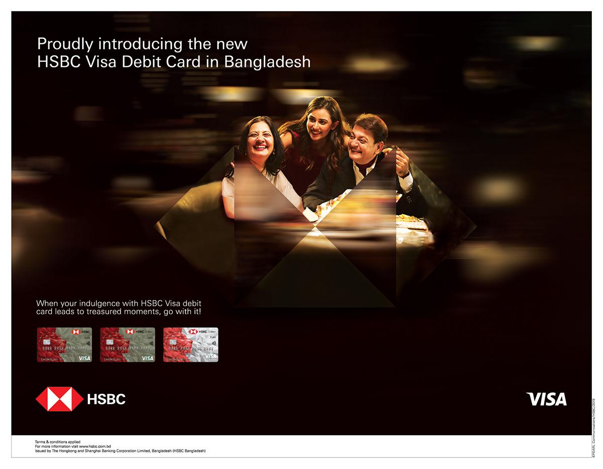 Hsbc Visa Debit Card Press Advertisement On Pantone Canvas Gallery