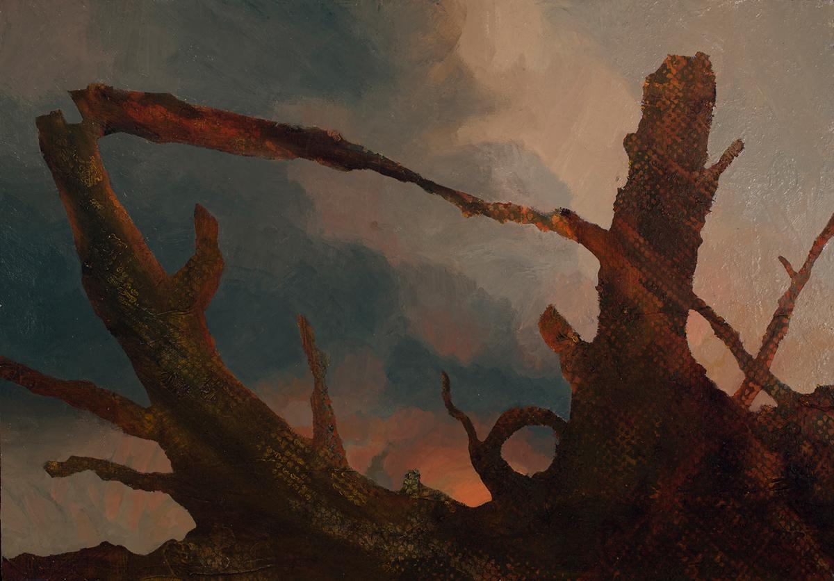 global warming climate change climate crisis erratic weather art contemporary art Landscape Painting new romanticism