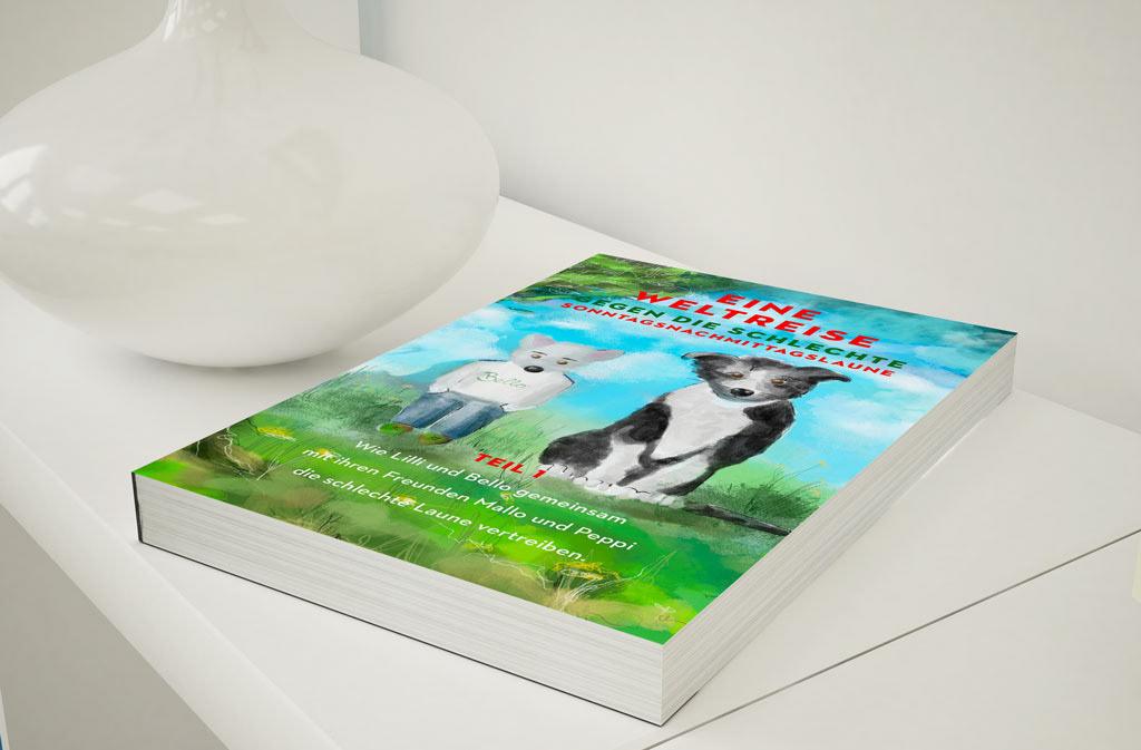 buchdesign children's book ILLUSTRATION  karinbinz kinder kinder buch sailrivercafe tiere tiergeschichten