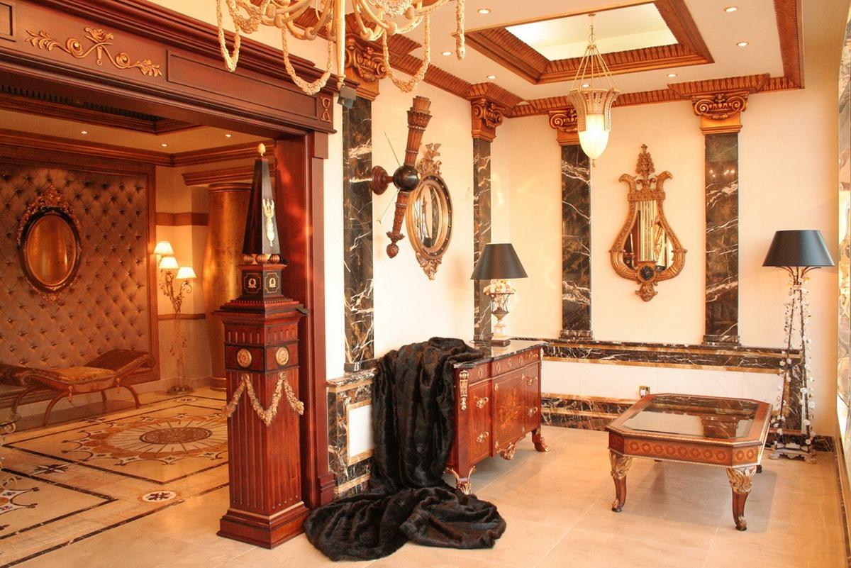 Classic furniture showroom dubai uae on behance for Classic furniture uae