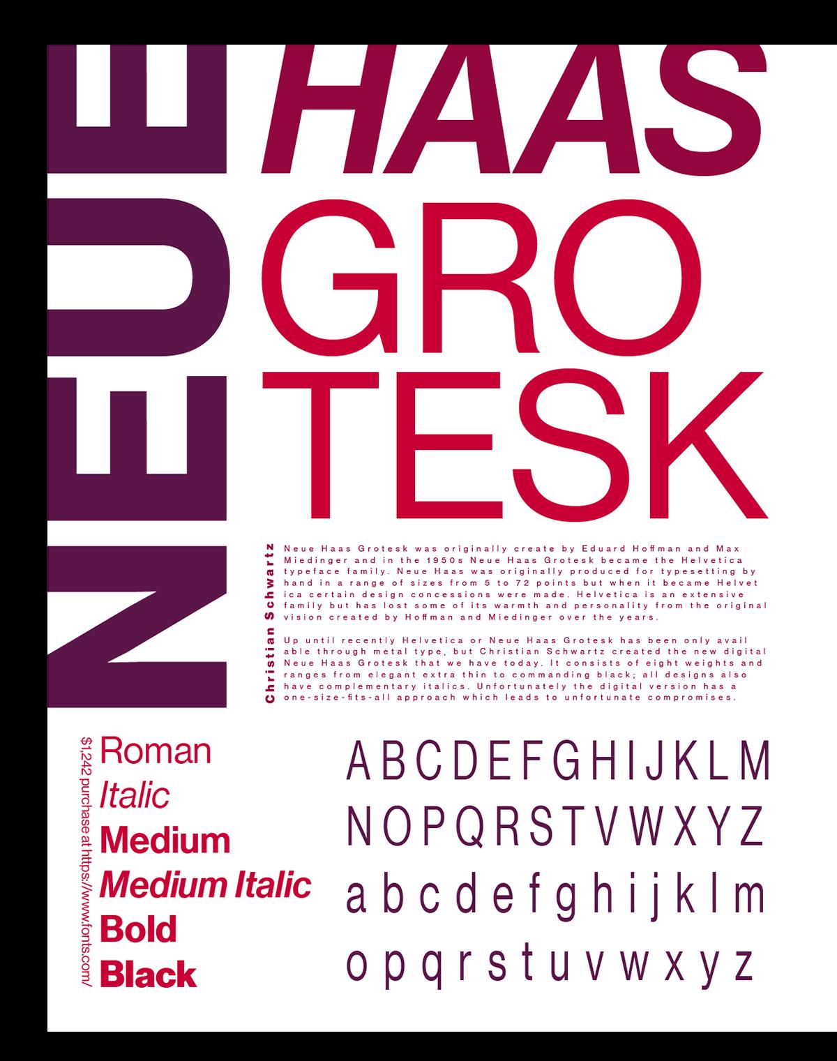 Font Poster on Behance