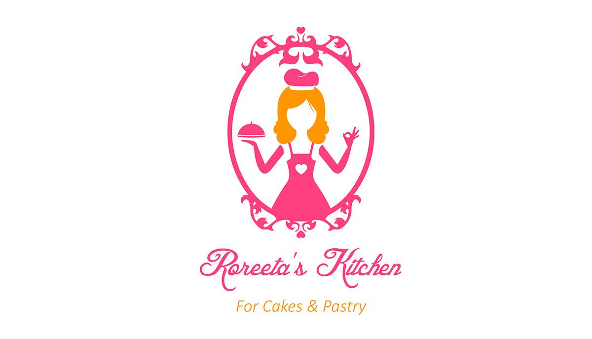 Kitchen Designer Logo Roreeta's Kitchen  Logo Design On Behance