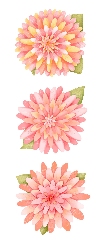 baby childrens illustration Elfs Flowers