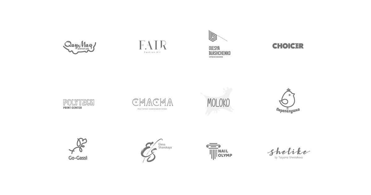 logofolio — 2017 on AIGA Member Gallery