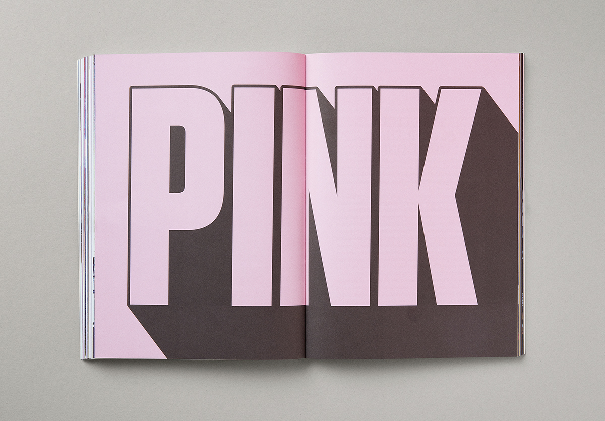 SNASK book identity pink foil gold colorful Colourful