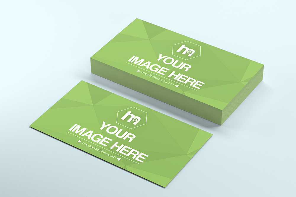 Stack of business cards psd mockup on behance reheart Image collections