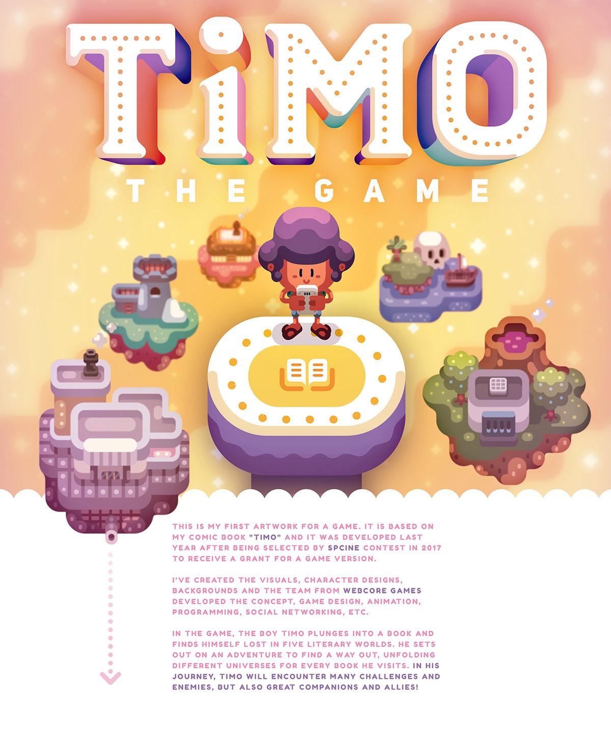 Games,apps,game design ,vector,kids,comics,videogame,indie,colors,ILLUSTRATION