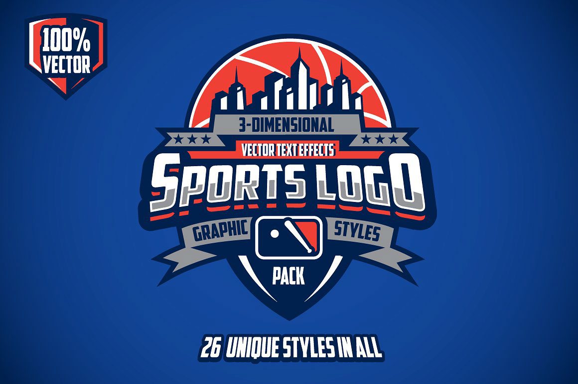 sports 3d logos template graphic sport team psd basketball vector event sporting pack designs complex esports illustrator styles templates graphics