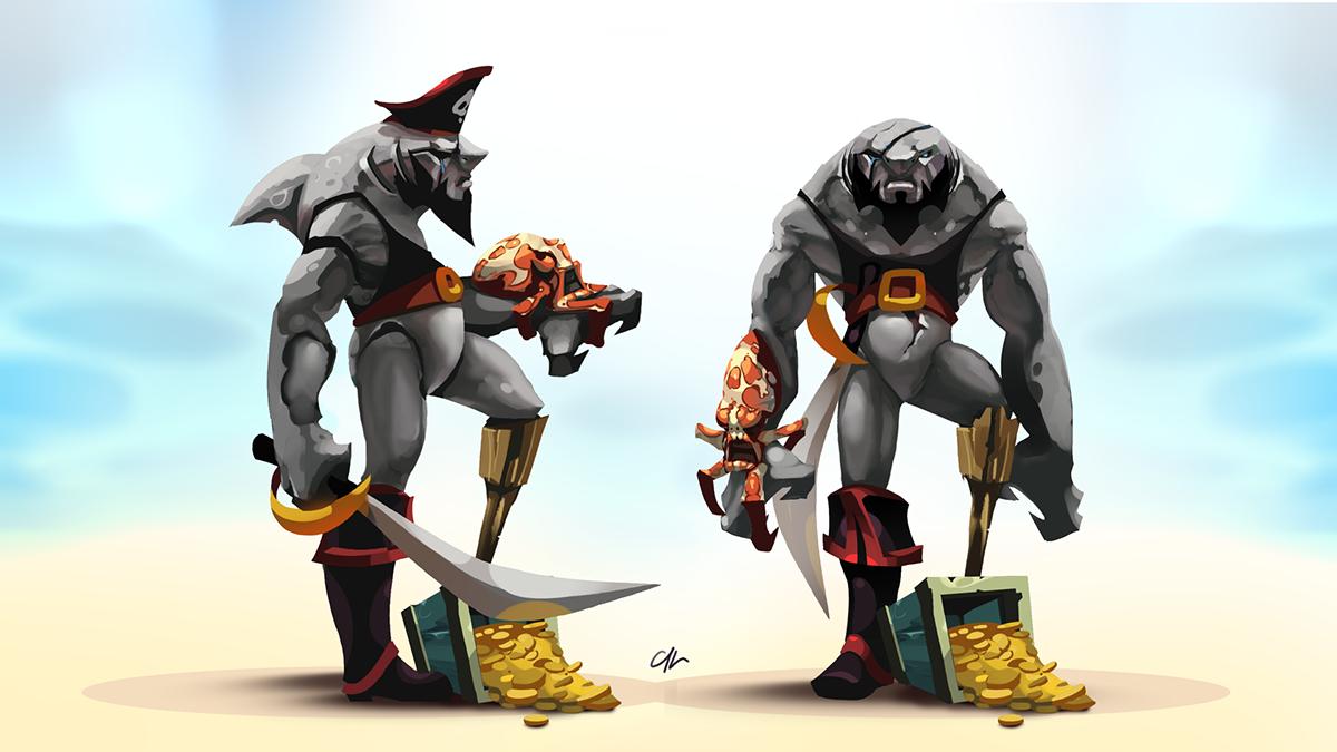 Character Design Job London : Character design on behance