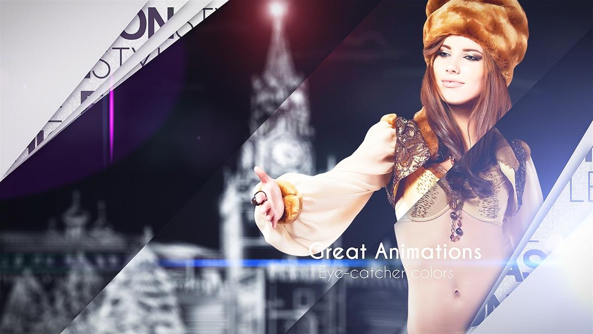 broadcast clean elegant gallery intro modern opener photo presentation promo Promotion showcase slideshow titles Ident