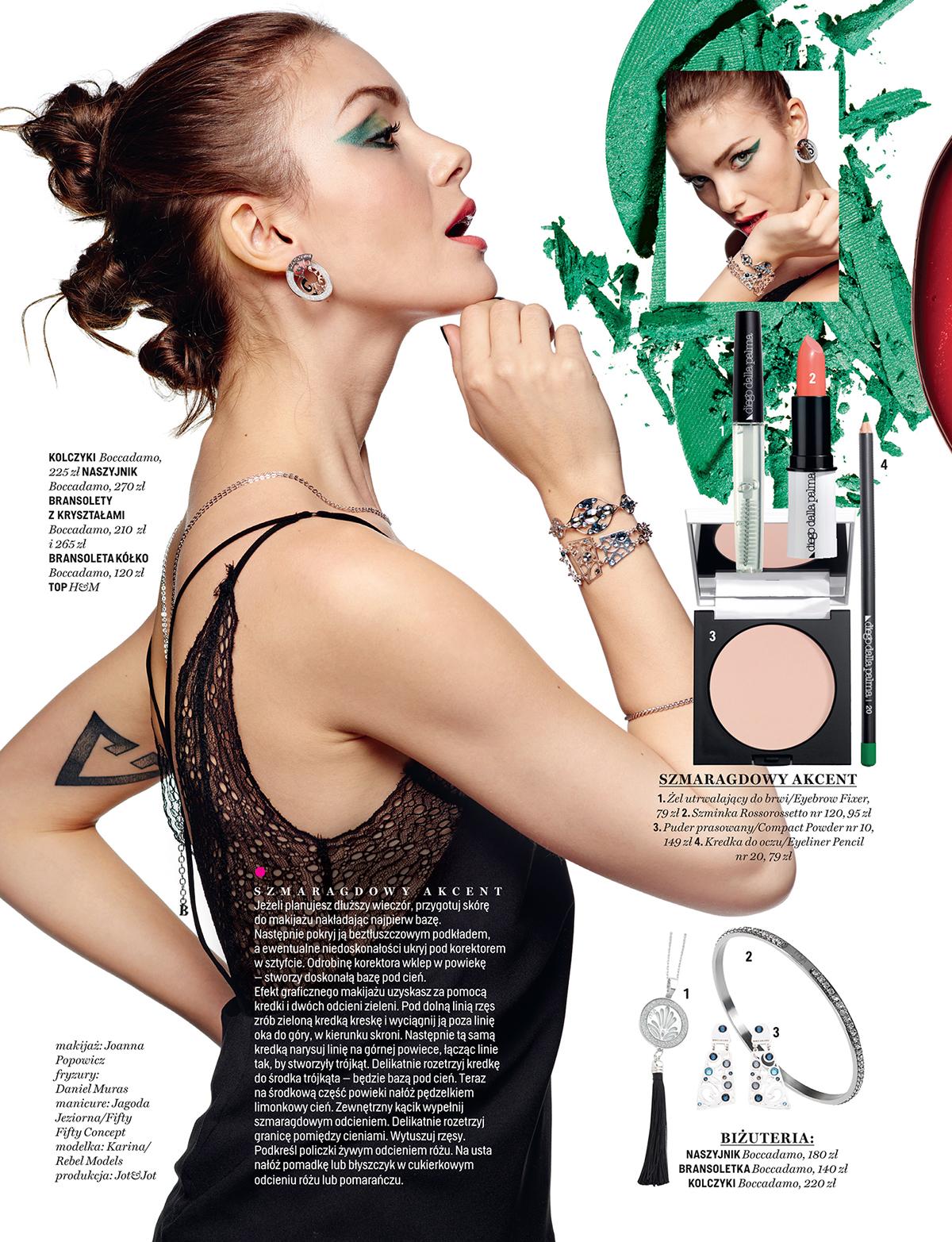 Karina Rebel Models For Cosmopolitan Pl On Behance