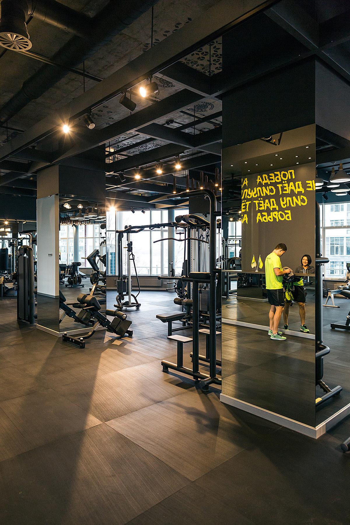 Fitness club palestra on behance for Gimnasio fitness club