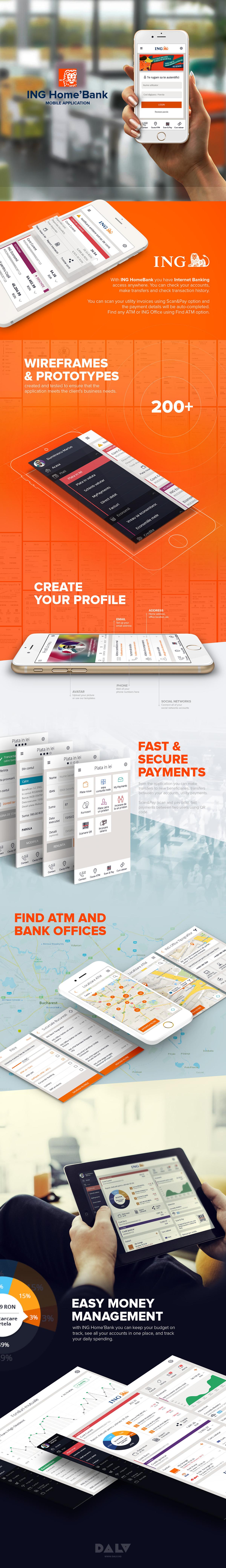banking mobile app iphone iPad ING