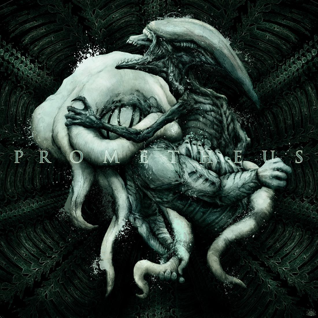 Prometheus Illustrative Poster on Behance