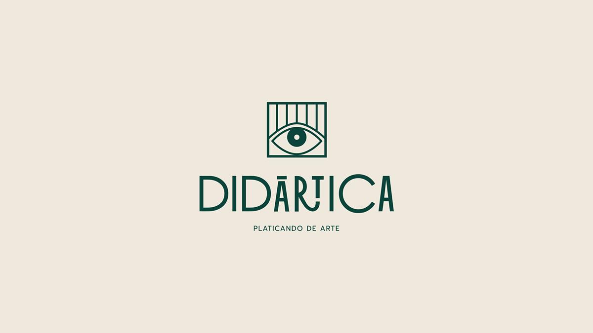 art branding  eye Logotype Web