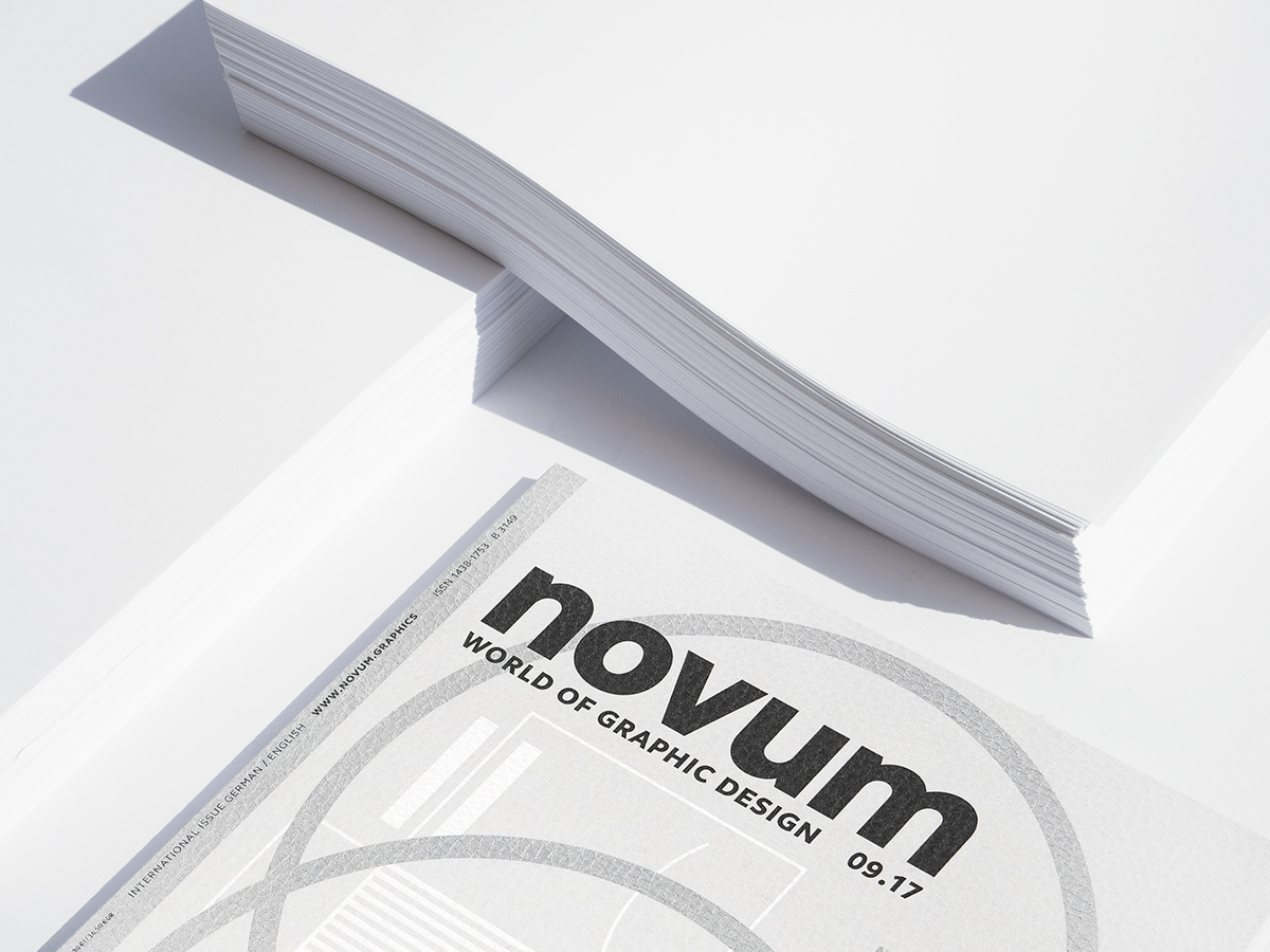book design special color pantone Printing fine paper Feinpapiere zeitschrift