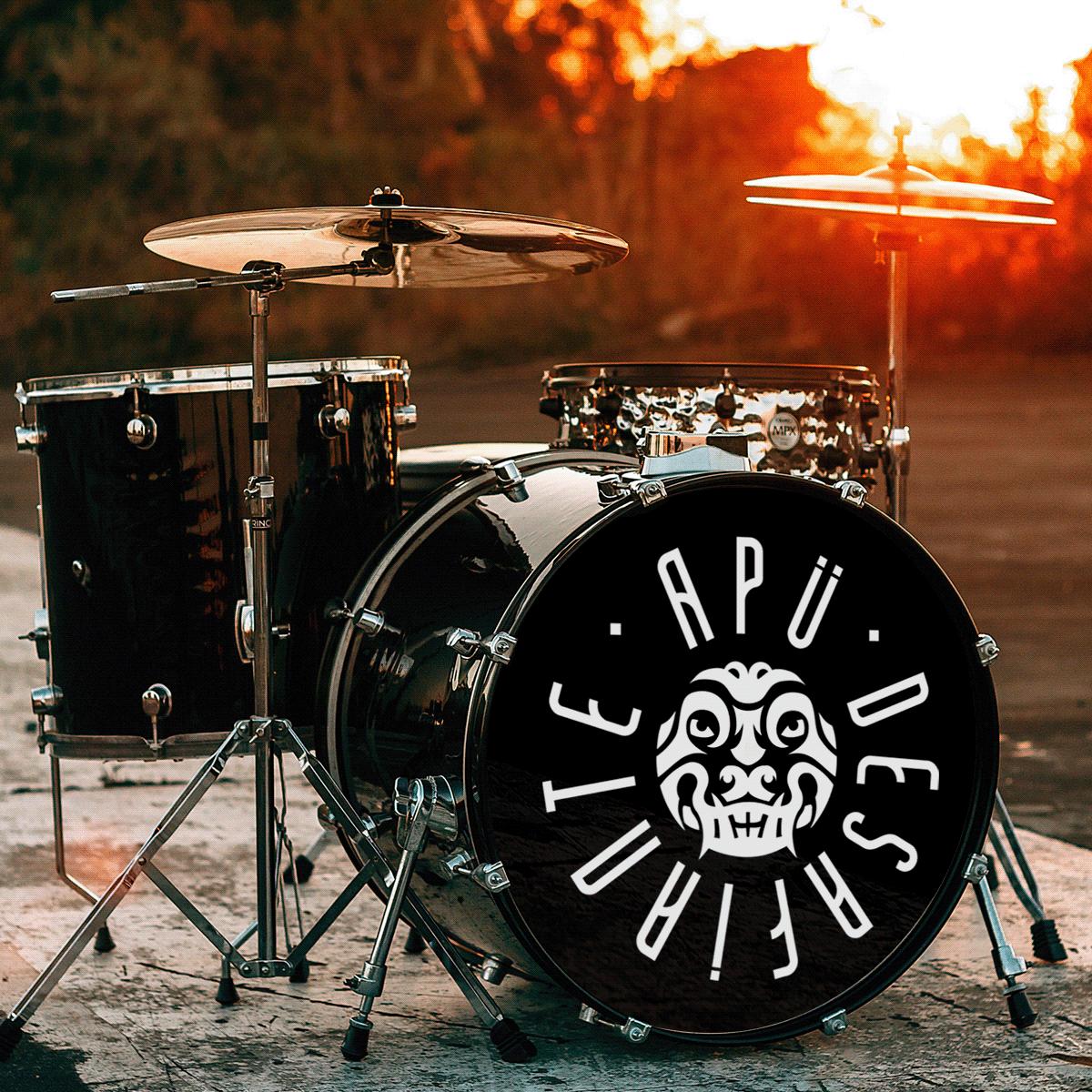 diseño Logotipo merchadising rock