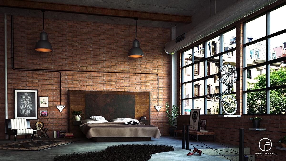 Loft Bedroom Loft Bedroom On Behance