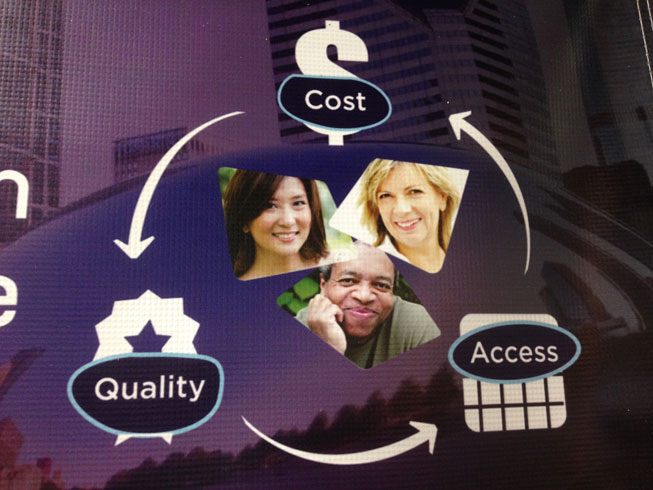 cost access and quality Tem has evolved in response to concerns about cost, access, and quality, the system has been unable to provide universally a basic package of health.