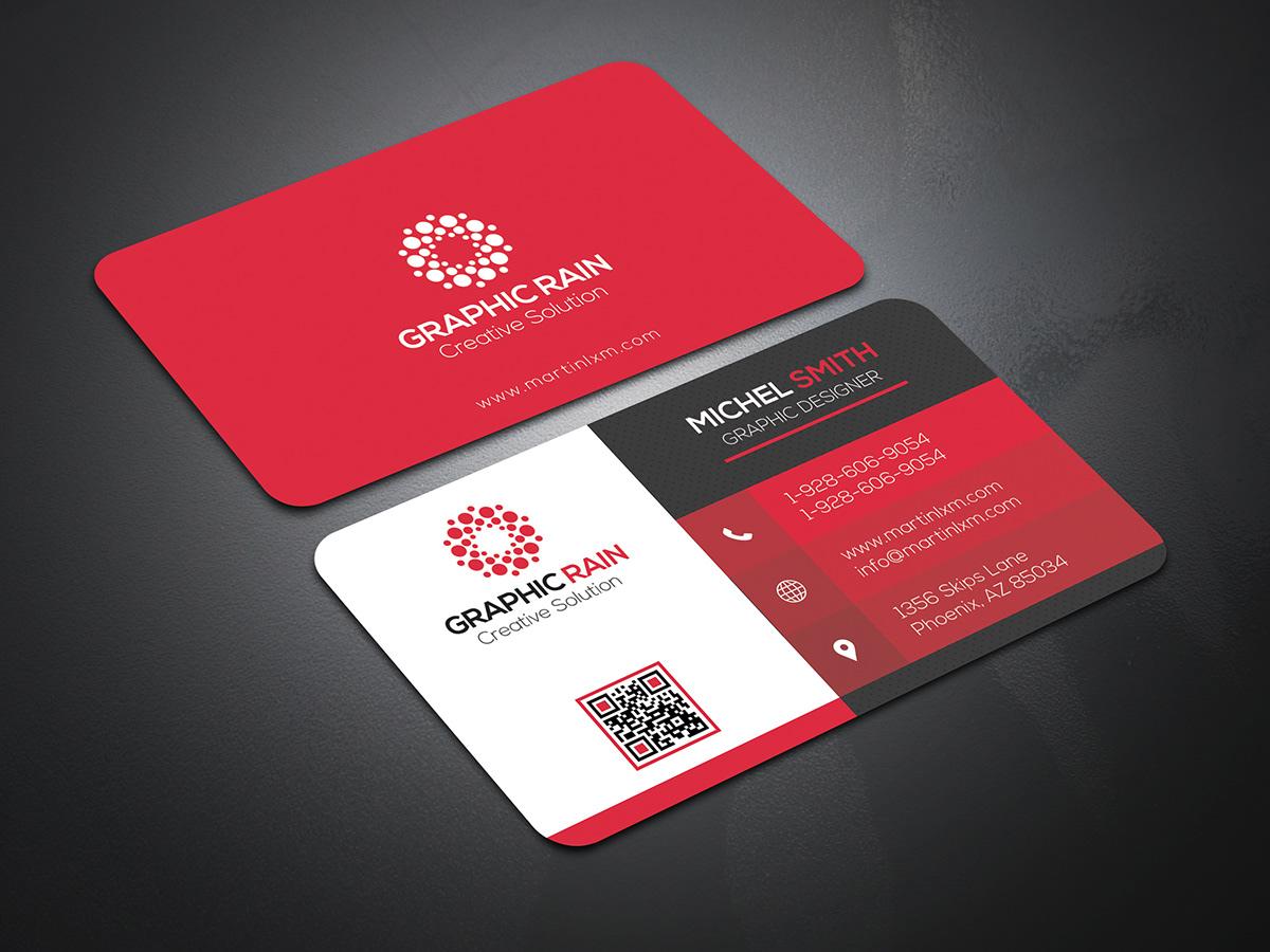 PSD Business card Template on Behance Throughout Creative Business Card Templates Psd