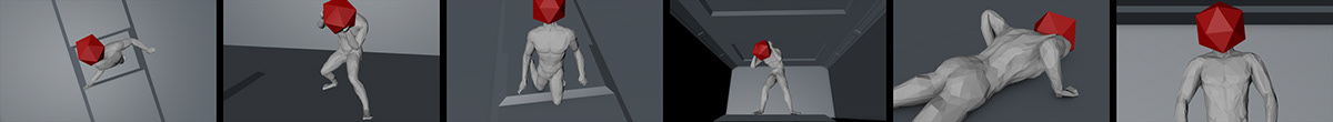 displacement,Glitch,glitch art,pixel sorter,vfx,Octane Render,octane,3d animation,motion design,figure