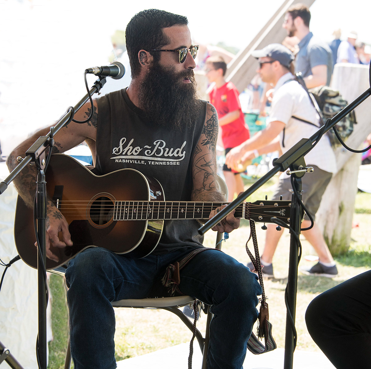 guitar bands festivals music Photography  guitarists
