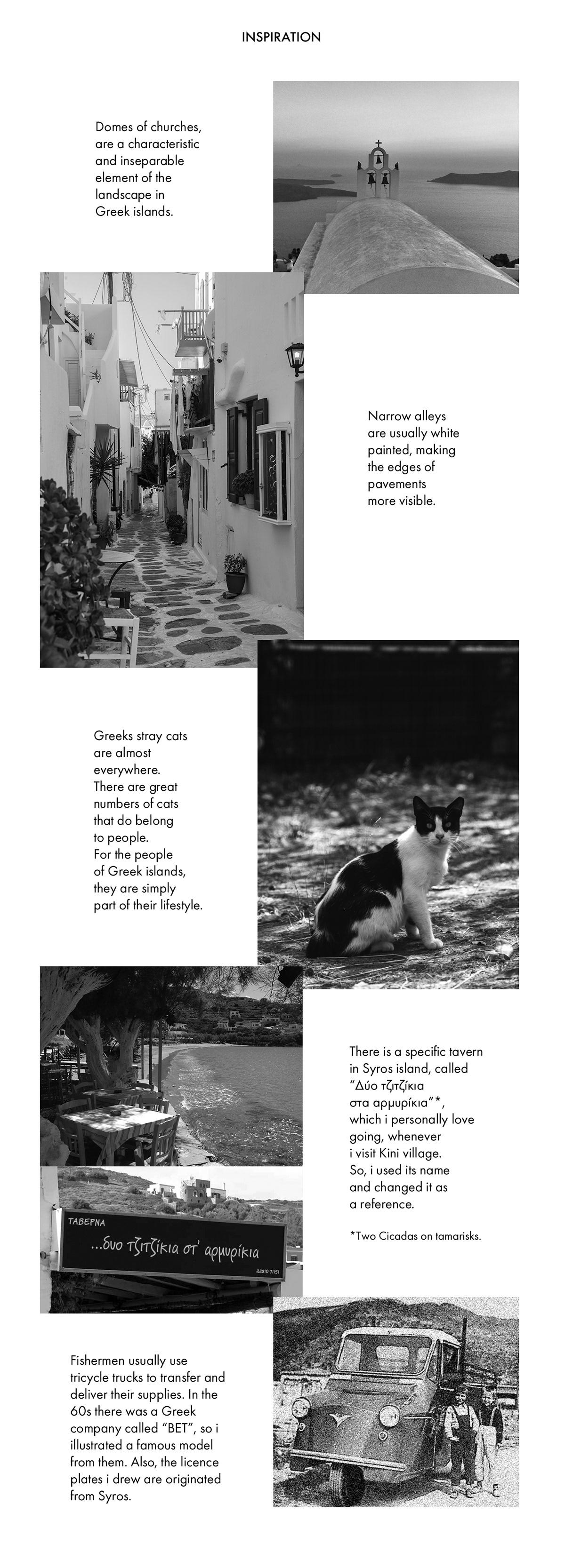 Dreyk greek ILLUSTRATION  print Screenprinting silkscreen tind