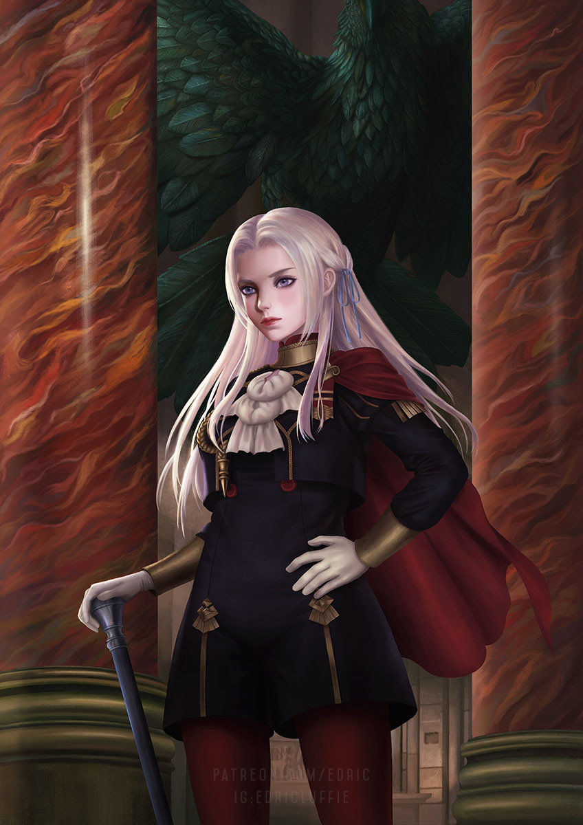 Edelgard Von Hresvelg On Behance