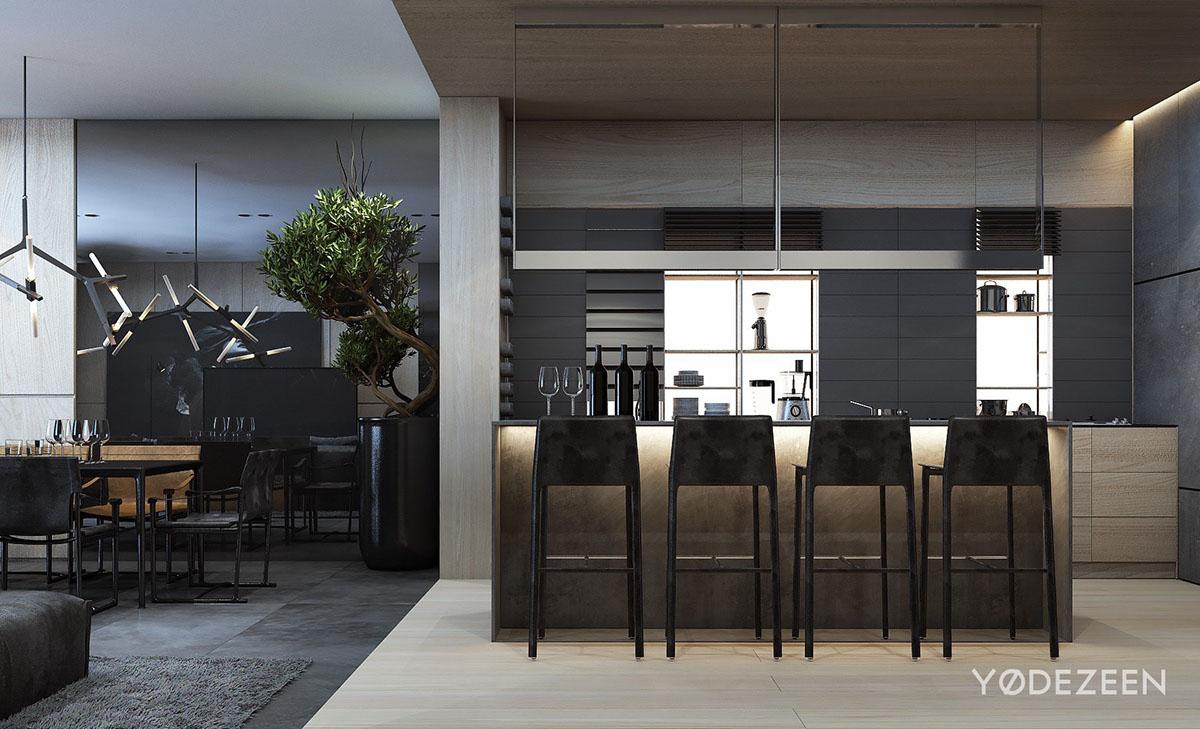 Interior design estate family estate Residence house development poland yodezeen modern decoration stylish